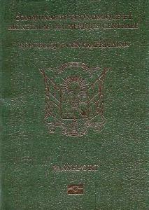 Central African Republic passport
