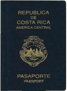Costa Rica passport