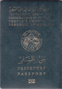DZ Algerian Passport