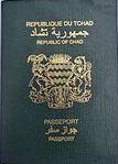Chad passport